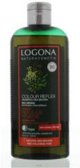 Logona Kleurshampoo Rood Bruin Bio Henna (250ml)