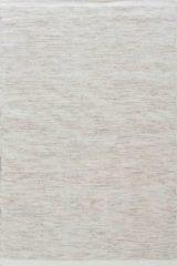 MOMO Rugs - Teppe White Naturel Vloerkleed - 140x200 cm - Rechthoekig - Laagpolig, Structuur Tapijt - Industrieel, Landelijk, Scandinavisch - Beige