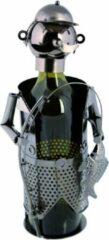 Out of the Blue wijnstandaard metaal visser
