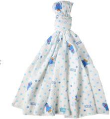 Lief! Lifestyle Lief! Stoer! XL Hydrofieldoek met sterrenprint blauw– 21x21x2 | Hydrofiele luiers voor baby's | Babyverzorging