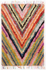 Teppich, »Boucherouite«, Theko, rechteckig, Höhe 18 mm, handgewebt