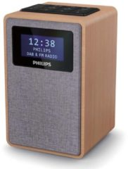 Philips TARR5005/10 - Grijs - Digitale Klokradio