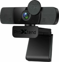 Zwarte ProXtend X302 Full HD webcam 2 MP 1920 x 1080 Pixels
