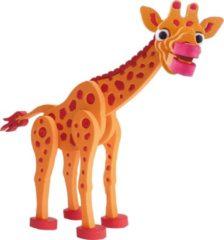 Toitoys Toi-toys 3d Puzzel Giraffe Junior 31,5 Cm Foam Oranje 104-delig