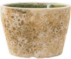 Baq Design Lava Relic beige bloempot binnen 25x25x17 cm