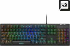 Sharkoon SKILLER SGK30 toetsenbord USB QWERTY Amerikaans Engels Zwart