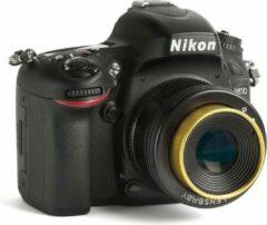 Zwarte Lensbaby Twist 60mm F/2.5 objectief - geschikt voor Nikon spiegelreflexcamera's