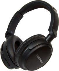 Zwarte Silvergear Draadloze Over Ear Koptelefoon met Noise Cancelling - 12 uur batterij - Bluetooth