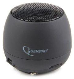 Zwarte Gembird SPK-103 - Draagbare Mini Speaker