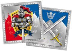 Partywinkel 20 ridder servetten - Feestdecoratievoorwerp