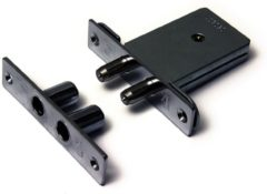 Dulimex DSKG 6006BKA Insteek-bijzetslot DX gelijksluitend per 6 stuks niet nabestelbaar SKG* 0160.299.6006