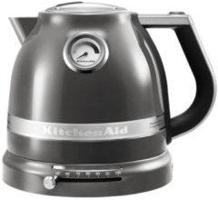 Zilveren KitchenAid Artisan waterkoker 1,5 liter 5KEK1522 - Tingrijs
