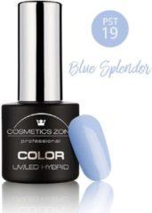 Blauwe Cosmetics Zone UV/LED Hybrid Gel Nagellak 7ml. Blue Splendor PST19