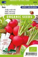 Sluis Garden - Radijs ronde rode Raxe zaadlint biologisch