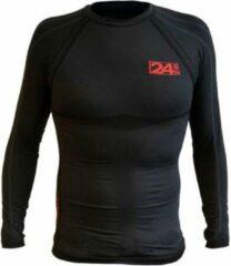 Zwarte Thermoshirt longsleeve 24-seven-s/m - S/M