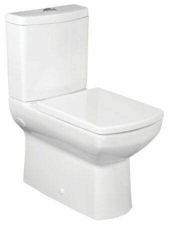 Afbeelding van Badstuber Nero duoblok wc pot met reservoir en zitting