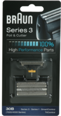 Procter&Gamble Braun Kombipack 30B sw - Scherfolie u Klingenblock f.Series1/3,SmartCon Kombipack 30B sw, Aktionspreis