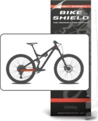 Transparante Bike Shield Bikeshield frame bescherming Stay/head shield kit matte protectie sticker