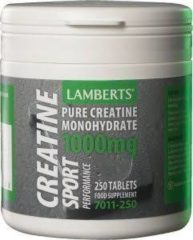 Lamberts Creatine Tabletten 250 tabletten - 1000 mg