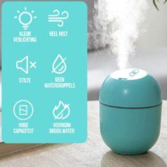 Kirano Luchtbevochtiger - Luchtbevochtiger babykamer - Aroma diffuser luchtbevochtiger -Humidifier en diffuser - Luchtbevochtigers - Humidifier - Luchtbevochtiger slaapkamer - Groen