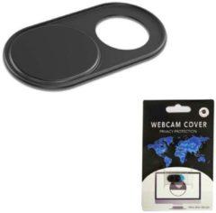 Zwarte GadgetBay Webcam Cover Privacy Schuifje - Voor Laptop Telefoon Tablet