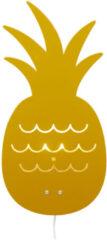 Roommate Pineapple Lamp Yellow Ochre