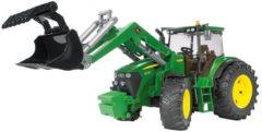 BRUDER® speelgoedtractor, John Deere 7930 met voorlader, 1:16, groen