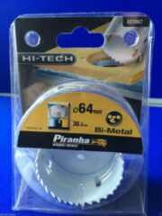 Piranha Bi-Metaal gatenzaag 64mm