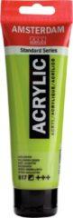 Royal Talens Amsterdam Standard acrylverf tube 120ml - 617 - Geelgroen - halfdekkend