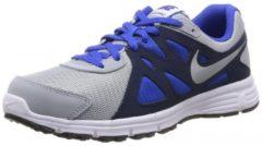 Nike Revolution 2 Gs Scarpe da Corsa, Grigio/Blu Marino/Blu/Bianco