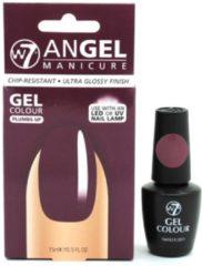 Paarse W7 Angel Manicure Gel UV Nagellak - Plumbs Up