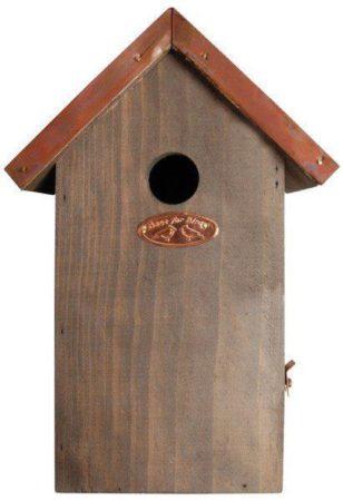 Afbeelding van Vogelhuisje - nestkast pimpelmees koper dak - Esschert Design