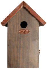 Vogelhuisje - nestkast pimpelmees koper dak - Esschert Design