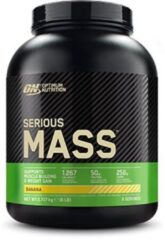 Optimum Nutrition Serious Mass - Weight Gainer / Mass Gainer - Banaan - 2724 gram (8 shakes)