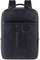 Blauwe Piquadro Urban Expandable Slim Backpack 15.6'' Blue