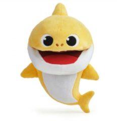 Merkloos / Sans marque Handpop - Baby shark - Met geluid - 1 stuks - Willekeurig geleverd