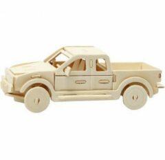 Creotime Triplex 3D Puzzel Auto 19,5x8x12 cm