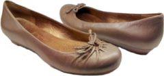Clarks CLOUD PUFF Dames Ballerina Pump - zilver - maat 38.5