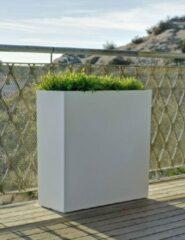 Witte Intergard Plantenbak tuinverlichting design 80x80x32cm