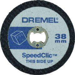 Dremel SpeedClic SC476 snijschijf voor kunststof 5-pack Dremel 2615S476JB Diameter 38 mm 5 stuks