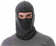 Faas Commerce Bivakmuts - balaclava - Bivak - Motor Gezichtsmasker - Ski Masker - Muts - Grijs - heren en dames