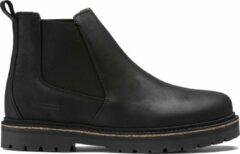 Birkenstock Stalon Chelsea Boots Zwart Leer Narrow-fit - maat 45