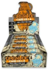 Grenade Carb Killa Bars - Eiwitreep - 1 box (12 eiwitrepen) - White Chocolate Cookie