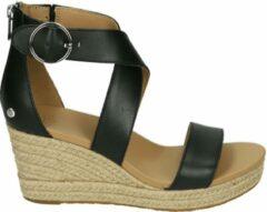 UGG Australia UGG HYLDA W - Volwassenen Sandalen met hakDames Sandalen - Kleur: Zwart - Maat: 38