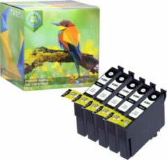 Ink Hero - 5 Zwarten - Inktcartridge / Alternatief voor de Epson 29 29XL T2991 T2992 T2993 T2994 Expression Home XP-235 XP-245 XP-247 XP-332 XP-335 XP-342 XP-345 XP-432 XP-435 XP-442 XP-445