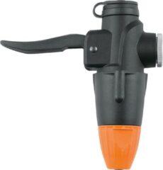 SKS handpomp TL-Head-Set Co2 met slangnippel zwart/oranje