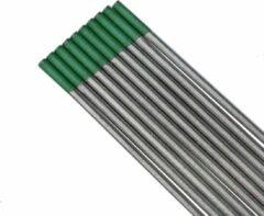 STAHLWERK Wolfraamelektroden WP groen 2,4 mm x 175 mm 10 stuks