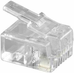 Intronics Modulaire connector voor ronde kabel met litze aders in zakje 25 stuks - [TD104R]