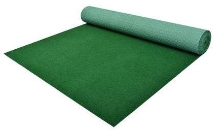 Afbeelding van VidaXL Kunstgras met noppen 20x1 m PP groen