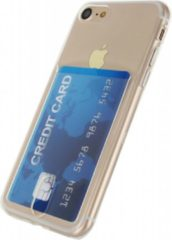 Transparante Xccess TPU Card Case Apple iPhone 7 / 8 Transparent Clear